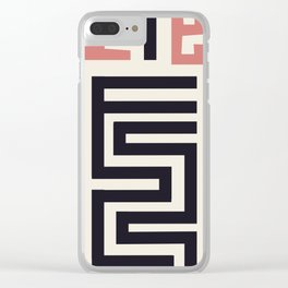 African Tribal Pattern No. 30 Clear iPhone Case
