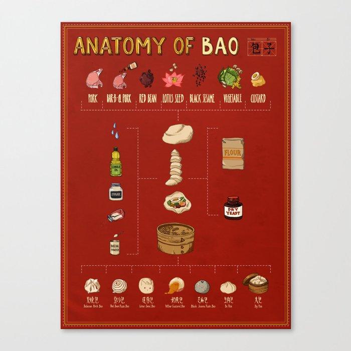 Anatomy of Bao Leinwanddruck
