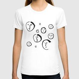 Wondering Heads T-shirt