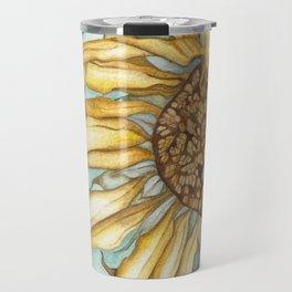 The last sunflower Travel Mug
