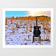 Winter's Song Art Print
