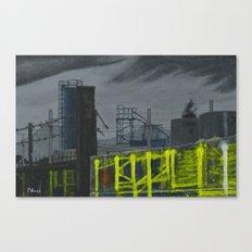 Lock Lane Canvas Print