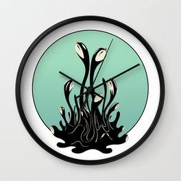 Cymatic Birds Wall Clock