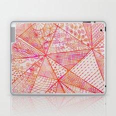 Circle Of Life - pink & orange Laptop & iPad Skin