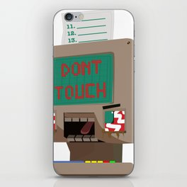 Don't Touch iPhone Skin