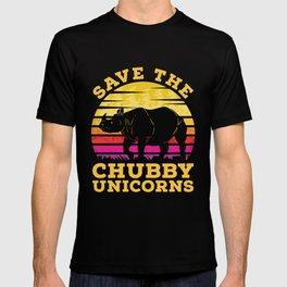 Rhino Chubby Unicorns T-shirt