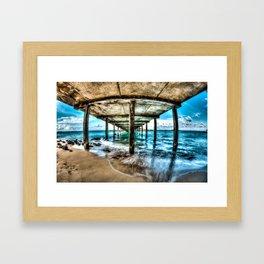 Makai Pier Framed Art Print