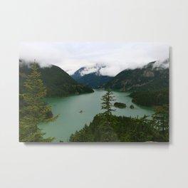 Ross Lake View Metal Print
