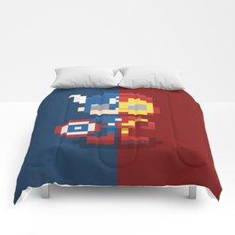 Civil Pixel War Comforters