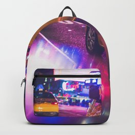 Taxi NYC Life (Color) Backpack