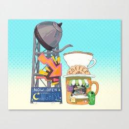 Coffee Stand - Mole Canvas Print