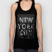 New York City - Black Unisex Tank Top