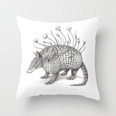 Armadillito Throw Pillow