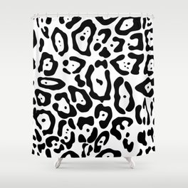 Jaguar seamless pattern Shower Curtain
