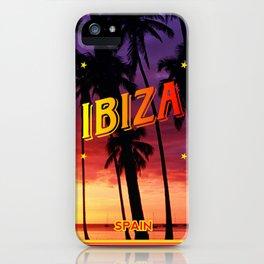 Ibiza, sunset iPhone Case