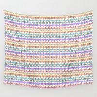 confetti Wall Tapestries featuring confetti by design lunatic