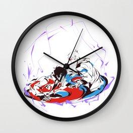 Yin Yang ( sketchy_messy ) Wall Clock