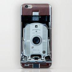 Polaroid Land Camera iPhone & iPod Skin