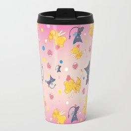 Spinell & Kerochan Pattern Travel Mug