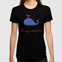 Whalentine T-shirt