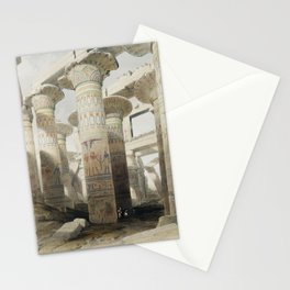 Karnac (Karnak) illustration by David Roberts (1796–1864)cc Stationery Cards