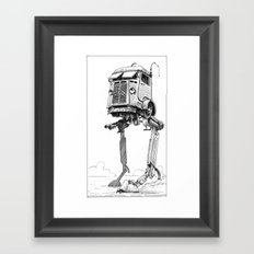 AT-CT Walker Type C Framed Art Print