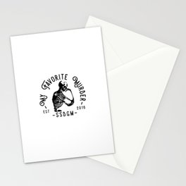 MY FAVORITE MURDER VINTAGE Stationery Cards