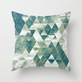 metalltri Throw Pillow