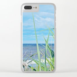 Through Grass and Driftwood Clear iPhone Case