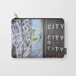 CITY MAPS Carry-All Pouch