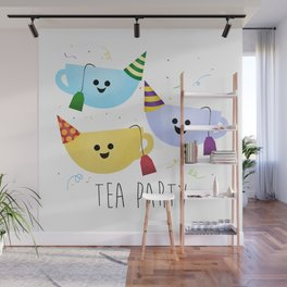 Tea Party Wall Mural