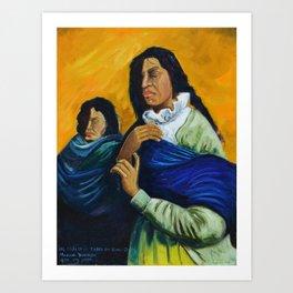 The Daughters of the Earth that Never Forgets Las Hijas de la Tierra que Nunca Olvida Art Print