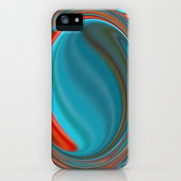 Hot and Cold Mind iPhone Case