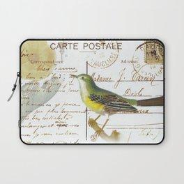 French bird Laptop Sleeve