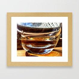 Whiskey Your the Divil Framed Art Print