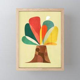 A tree Framed Mini Art Print