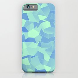 Geometric Shapes Fragments Pattern ib iPhone Case