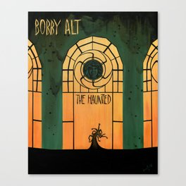 The Haunted (Bobby Alt) Canvas Print