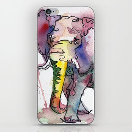 I'd rather be an elephant iPhone Skin
