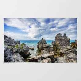 Tobacco Bay Beach, Bermuda Rug