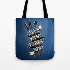 Nothing To Lose Tote Bag