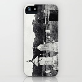 Rural Resting Place iPhone Case
