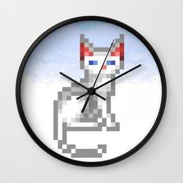 Transcendence Cat Wall Clock