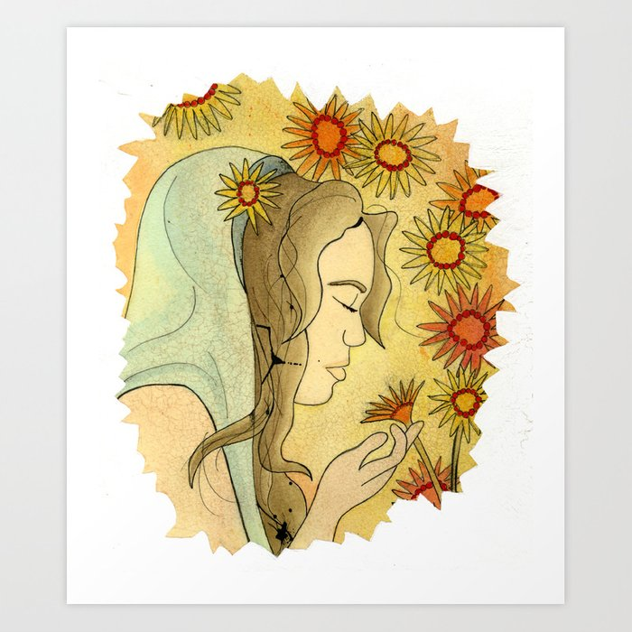 Ave Maria Art Print