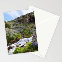 Lupine Landscape Stationery Cards