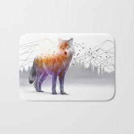 A Wilderness Within / Wolf Bath Mat