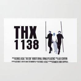 THX 1138 Movie Poster Rug