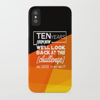 motivational iPhone & iPod Cases featuring Motivational Quote by Zenife