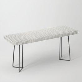 White | Japanese Atmospheres Bench