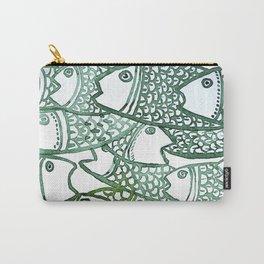 peixinho verde Carry-All Pouch